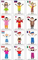 It includes coloring and writing pages. Children Around The World Theme And Activities Educatall