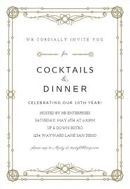 dinner template dinner party invitation templates free greetings island
