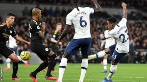 Read about spurs v man city in the premier league 2019/20 season, including lineups, stats and live blogs, on the official website of the premier league. Tottenham Hotspur 2 0 Manchester City Steven Bergwijn Scores Superb Debut Volley As Spurs Win Bad Tempered Affair Bbc Sport