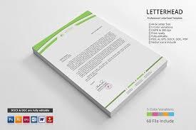 creative business letterhead templates