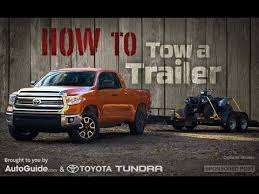 How to Tow a Trailer - YouTube