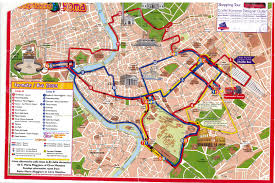 rome tourist map pdf  rome map tourist attractions rome tourist