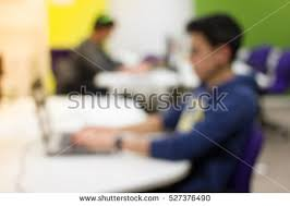 wide angle view busy design office. detail view of busy office with workers at desks 527376490 wide angle design i