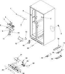 Amana refrigerator parts model asd2622hrw sears partsdirect