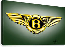 bentley logo - Khajohnpan Canvas