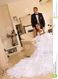 Newlywed Bedroom Newlywed Couple In Bedroom Royalty Free Stock Photos Image 26962468