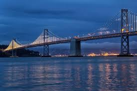 Bay Bridge Lights Project Bay Lights And The San Francisco Bay Bridge