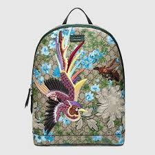 gucci back bags 2017. gucci men - xl gg floral print backpack 419584kysdk8936 ebags backpack tumblr | leather back bags 2017