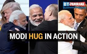Image result for Narendra Modi's  Hug diplomacy, saudi prince