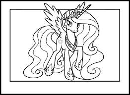 Small Picture Princess Celestia Coloring Pages Coloring Pages