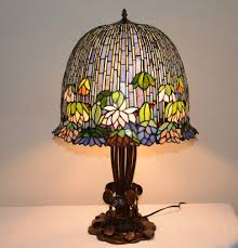 lamp tiffany dragonfly lamp stained glass pendant light ceiling lamps table fixture top inserts fish style