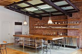 industrial looking furniture. view in gallery industrial kitchen with vintagestyle seating looking furniture l