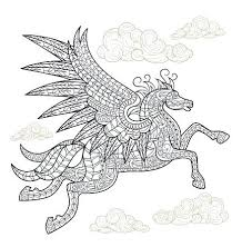 Cute Baby Pegasus Coloring Pages Justgetlinkinfo