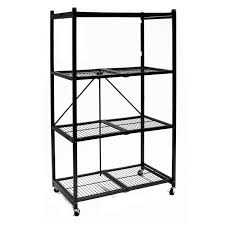 metal storage shelves. top 10 best collapsible storage rack reviews in 2017 - review of metal shelves
