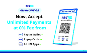 Paytm launches All-in-One QR for merchants with unlimited payments at 0% fee - The News Strike
