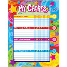 Praise Words N Stars Success Charts Chore Charts