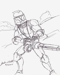 Coloring Pages Star Wars Clone Page For Children 1024768 Attachment