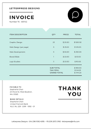 Invoice Maker Online Free Online Invoice Maker Design a Custom Invoice in Canva 1