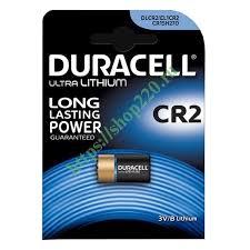 Купить <b>Батарейка CR2 Duracell</b> 3V Ultra Lithium (упаковка 1шт ...
