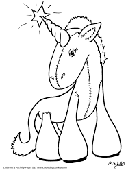 Small Picture Anime Coloring Pages Anime Unicorn Coloring Page and Kids