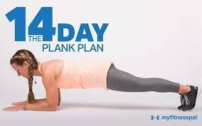 21 Day Plank Challenge Chart The 14 Day Plank Plan Fitness Myfitnesspal