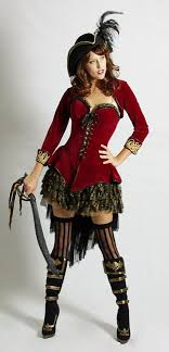 Velvet Pirate Girl Costume, Exclusive To The Costume Shop, Melbourne,