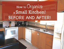 To Organize Kitchen How To Organize A Small Kitchen Before And After Youtube
