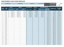 Online Cash Flow Statement Calculator Free Cash Flow Statement Templates Smartsheet