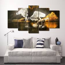 Modern Art Paintings For Living Room Online Get Cheap Horse Art Paintings Aliexpresscom Alibaba Group