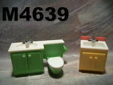 vintage fisher price dollhouse bathroom ebay