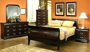 cherry wood bedroom set. Cherry Wood Bed Dreaded Bedroom Set Coaster Cappuccino Sleigh King .