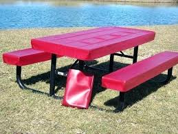picnic table cover and bench pads 8 foot picnic table 8 ft recycled plastic picnic table welded frame portable by 8 foot 8 foot picnic table diy picnic