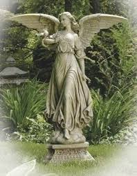 garden angel statues. Amazon.com : Roman 27053 46.5\ Garden Angel Statues S