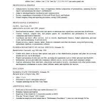 Profile On Resume Amazing Sample Resume Profile Statements And Objectives Statement Examples
