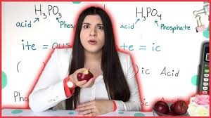 naming acids how to pass chemistry  naming acids how to pass chemistry