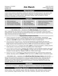 Templates Web Developer Resume Sample Monster Com Android Job