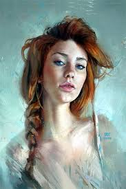 Digital Portrait Painting 40 Spectacular Digital Painting Portraits