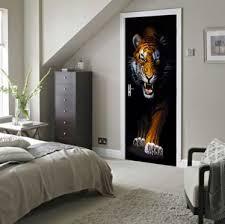 tiger 3d wallpaper waterproof stickers