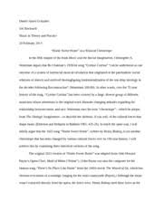music study resources 4 pages essay home sweet home as a musical chronotope