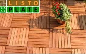 Piastrella In Legno Per Esterni : Piastrelle per esterni autobloccanti plastica pavimento