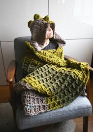 Hooded Blanket Crochet Pattern Interesting Ideas