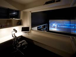 modern home theater furniture. Affordable Nice Design Home Theatre Modern With Warm Table Lamp On The White Desk Applied Theater Furniture E