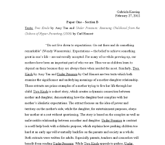 sample essay about two kinds analysis essay literary analysis of two kinds by amy tan essay