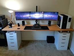 gaming desk ikea desk with slide out keyboard shelf corner computer desk  corner desk with best