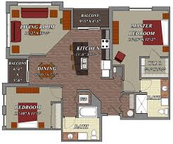 40 Bedroom 40 Bathroom Style D40 Lilly Preserve Apartments Simple Apartments Floor Plans Design Style