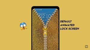 Best & Beautiful Gold lock screen app ...