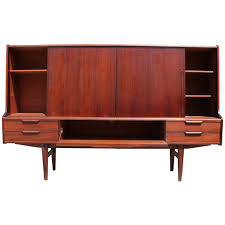 Tall Sideboard incredible mid century modern tall rosewood danish sideboard or 6900 by xevi.us