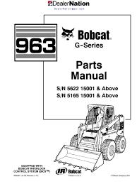 bobcat 963 skid steer loader master illustrated parts list manual Bobcat Loader Parts Diagram bobcat 963 skid steer loader master illustrated parts list manual book g series(autosaved) bobcat skid loader parts diagrams