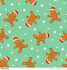 cute gingerbread background. Perfect Cute Gingerbread Man Seamless Pattern Cute Vector Background For New Yearu0027s  Day Christmas Winter With Background Megapixl