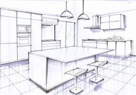 Galeries De Plan De Cuisine Avec Ilot Central Design Dintérieur
